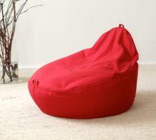 orthopädischer Sitzsack Baby Kleinkind Kinder in rot aus Öko Baumwolle und Bio Dinkelspreu