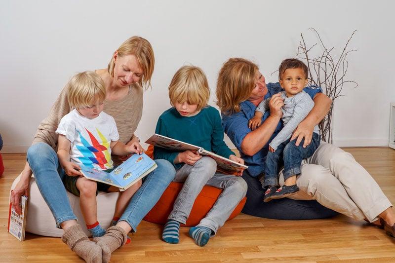 Sitzsack aus Biologisch angebauten Naturmaterialien für Baby Kinder und Erwachsene