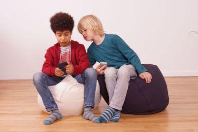 robuster Sitzsack Kinder und Jugendliche ohne Schadstoffe zum Spielen Toben Relaxen