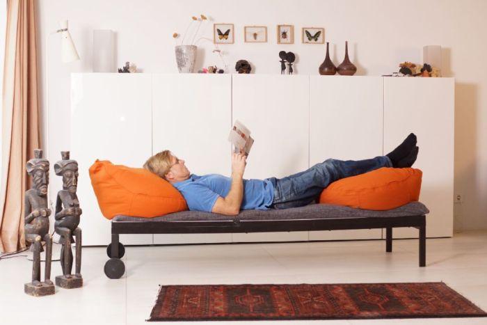 Multifunktions Sitzsack Erwachsene schickes Design in Bio Qualität nachhaltig