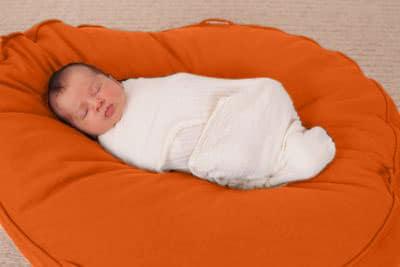 hochwertige ökologische Materialien für Lagerungskissen Babys für stabile Liegeposition