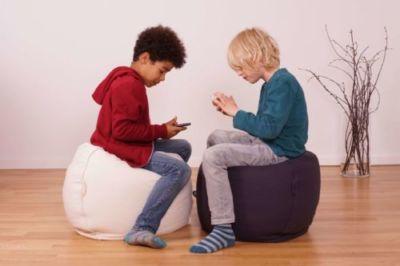 rutschfester Sitzsack Kinder Jugendliche für Sitzecke